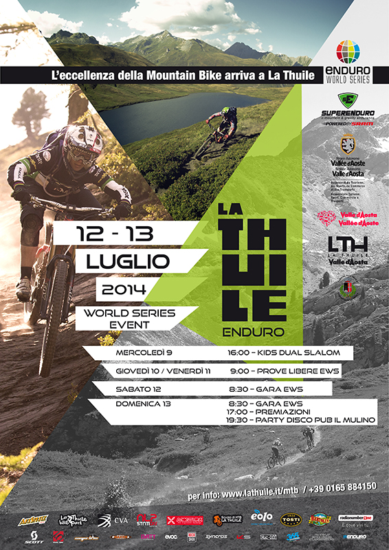La Thuile Enduro World Series Flyer