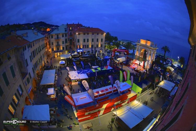 Piazza Vittorio Emanuele II durante l'edizione EWS 2013