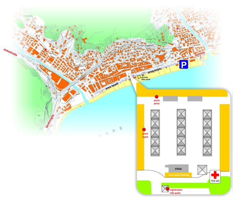 mappa logistica