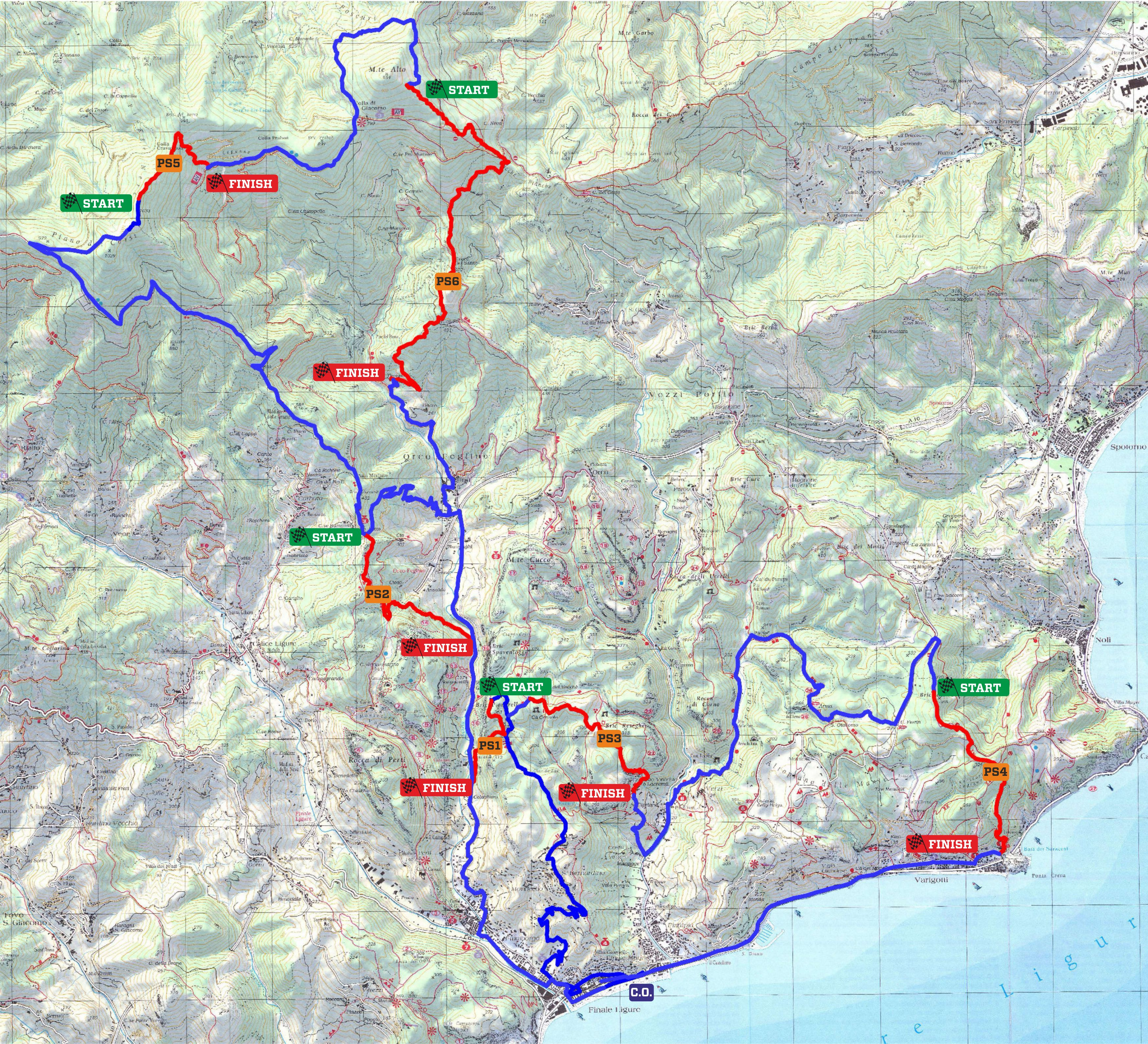 EWS7 The race course of the Grand Final of Finale Ligure has been