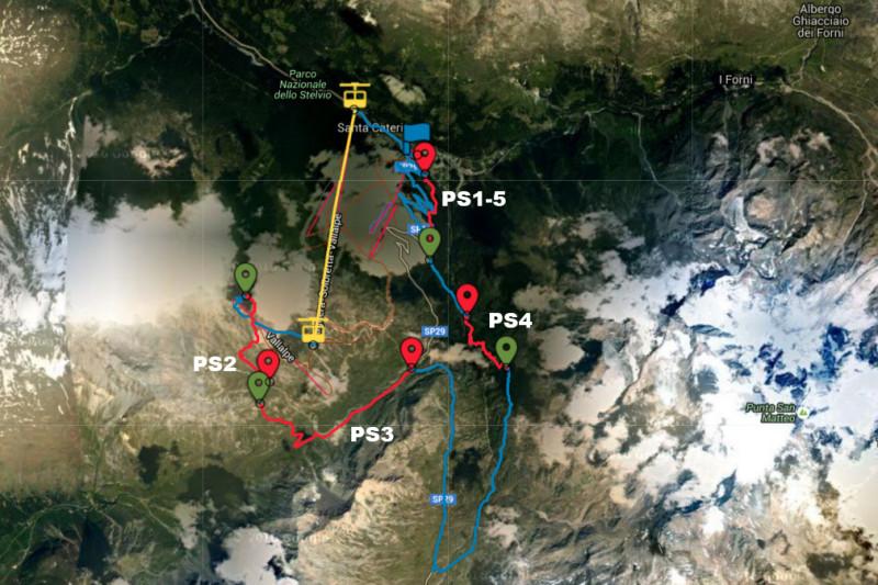 SCV-map