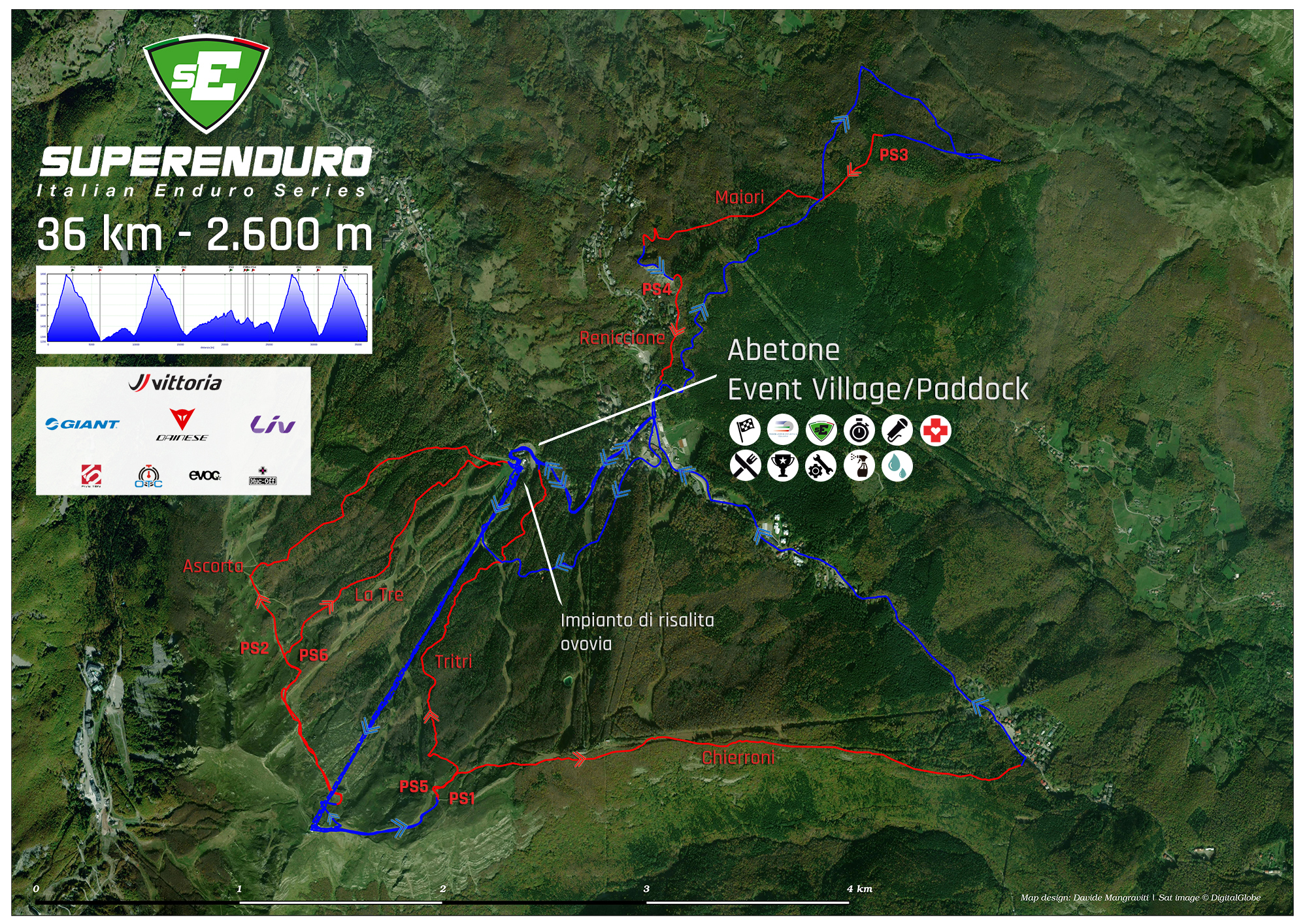 Abetone-Superenduro-Mappa